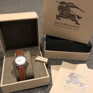 Burberry double wrap watch